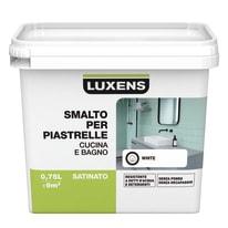 Smalto per piastrelle LUXENS per piastrelle bianco 0.75 L