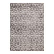 Tappeto Casa a grigio e avorio 180x60 cm