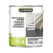 Smalto per pavimenti interni LUXENS Parquet-laminati-ceramica bianco 2.5 L