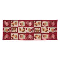 Tappeto Cucina antiscivolo Kentucky multicolor 180x50 cm