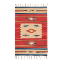 Tappeto Larya jahnu colori assortiti 60x40 cm