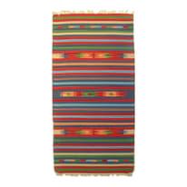 Tappeto Larya jahnu colori assortiti 90x60 cm