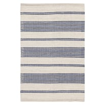 Tappeto Cotone bay stripe blu 200x140 cm
