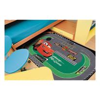 Tappeto antiscivolo Cars racing actline multicolor 190x133 cm