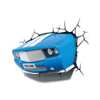 Applique da avvitare connessione elettrica plastica blu