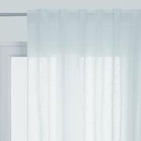 Tenda Aspect lin bianco passanti nascosti 145x300 cm