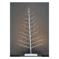 Albero 90 lampadine bianco caldo H 120 cm
