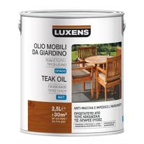Finitura ad olio penetrante LUXENS Mobili da giardino trasparente 2.5 L