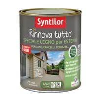 Smalto per legno da esterno base acqua SYNTILOR Rinnova Tutto bianco 0.75 L