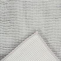 Tappeto antiscivolo Cloud grigio 110x60 cm