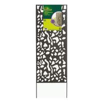 Traliccio fisso in acciaio Decoration panel L 60 x H 150 cm, Sp 5 mm