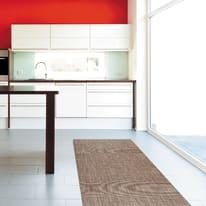 Tappeto Cucina antiscivolo Digit texture beige 230x52 cm