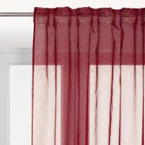 Tenda di pizzo INSPIRE Softy viola tunnel 200x280 cm