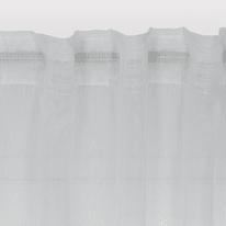 Tenda di pizzo INSPIRE Softy bianco tunnel 200x280 cm
