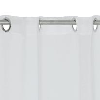 Tenda Shali bianco occhielli 140x280 cm
