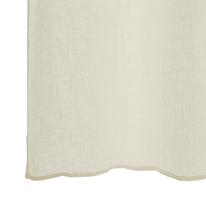 Tenda Voile de lin sabbia occhielli 150x280 cm
