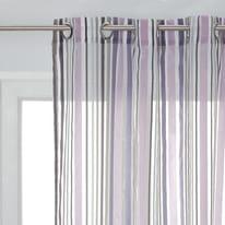 Tenda Alexia viola occhielli 140x280 cm