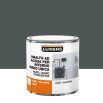 Smalto LUXENS base acqua grigio granito 1 lucido 0.5 L