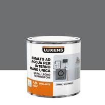 Smalto LUXENS base acqua grigio granito 2 lucido 0.5 L