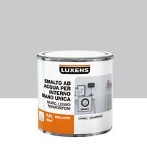 Smalto LUXENS base acqua grigio granito 5 lucido 0.5 L