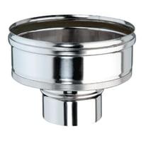 Riduzione Ø 100 mm per Canna fumaria