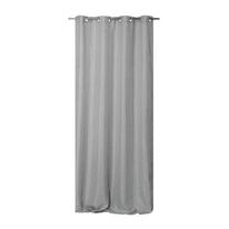 Tenda Oscurante Copenhague grigio chiaro occhielli 135x280 cm