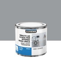 Smalto LUXENS base acqua grigio granito 3 opaco 0,125 L