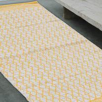 Tappeto Cotone bay giallo 200x140 cm