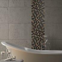 Mosaico Patchwork H 30 x L 30 cm nero, grigio, rosso, oro