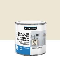 Smalto LUXENS base acqua bianco paper 2 opaco 0.5 L