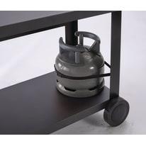 Carrello per barbecue NATERIAL in acciaio