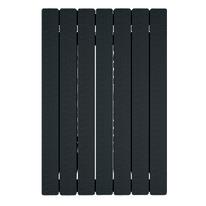 Radiatore acqua calda PRODIGE BY FONDITAL Modern in alluminio 7 elementi interasse 80 cm
