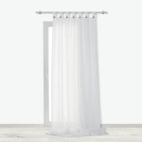 Tenda INSPIRE Charlina bianco passanti 140x280 cm