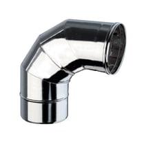 Curva 90° Curva inox aisi 316L a 90° Dn 180 mm in inox 316l (elevata resistenza in condizioni climatiche estreme)