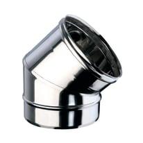 Curva 45° Curva inox aisi 316L a 45° Dn 80 mm in inox 316l (elevata resistenza in condizioni climatiche estreme)