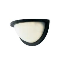 Applique Detroit LED integrato in alluminio, nero, 10W 700LM IP54