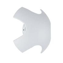 Applique Ghibli LED integrato in alluminio, bianco, 8W 520LM IP54