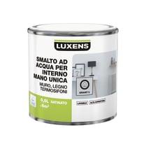 Smalto LUXENS base acqua grigio granito 5 satinato 0.5 L