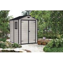 Casetta da giardino in resina Lineus 6x6 4.15 m² spessore 16 mm