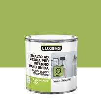 Smalto LUXENS base acqua verde bali 3 satinato 0.5 L