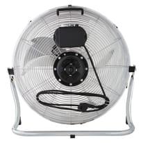 Ventilatore da pavimento EQUATION Jervis3 cromo 120 W Ø 45 cm