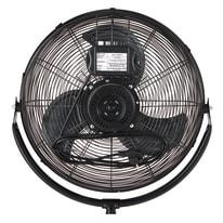 Ventilatore da appoggio EQUATION Mogo3 nero 120 W Ø 45 cm
