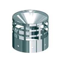 Griglia Griglia nero Dn 80 mm in inox 316l (elevata resistenza in condizioni climatiche estreme)