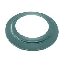 Collare di fissaggio Rosone nero per  stufe a pellet Dn 100 mm in acciaio al carbonio