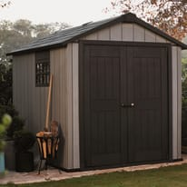 Casetta da giardino in polipropilene Oakland 757 KETER 4.04 m² spessore 20 mm