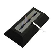 Biobruciatore per pavimento Trapezio grigio / argento