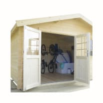 Casetta da giardino in legno Seppo 11.58 m² spessore 28 mm