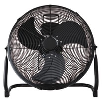 Ventilatore da pavimento EQUATION Jervis3 nero 110 W Ø 45 cm