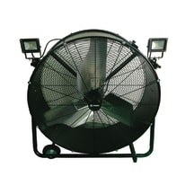 Ventilatore da pavimento EQUATION SFDI1-900BT0-2L nero 410 W Ø 90 cm