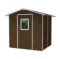 Casetta da giardino in legno Vaniglia 4.9 m² spessore 19 mm